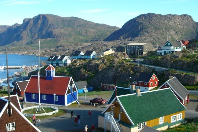 overnatning i aasiaat grønland